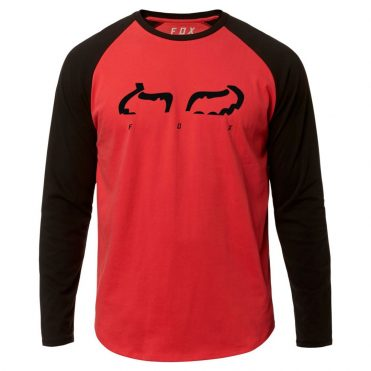 FOX Strap Airline Long Sleeve T-Shirt Rio Red