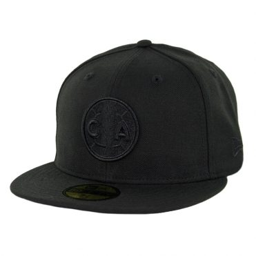 New Era 59Fifty Club America Blackout Fitted Hat Black