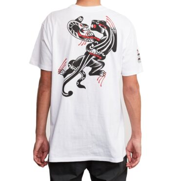 RVCA Pick Your Battles T-Shirt White