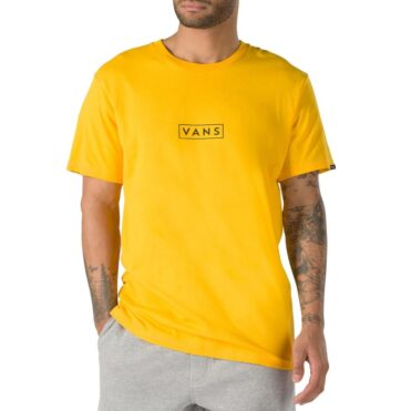 Vans Easy Box T-Shirt Gold Fusion