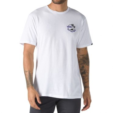 Vans Mini Dual Palm II T-Shirt White Dress Blues Vans Purple
