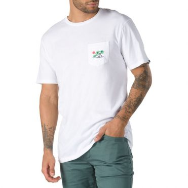 Vans Scene 12 Pocket T-Shirt White