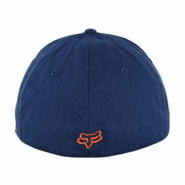 FOX Flex 45 Flexfit Hat Navy Orange