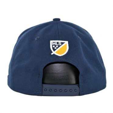 New Era 9Fifty Los Angeles Galaxy Basic Snapback Hat Navy