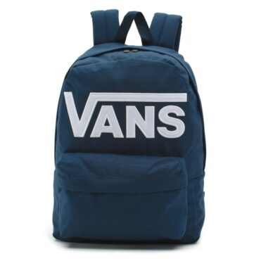 Vans Old Skool Drop V Backpack Dress Blues White