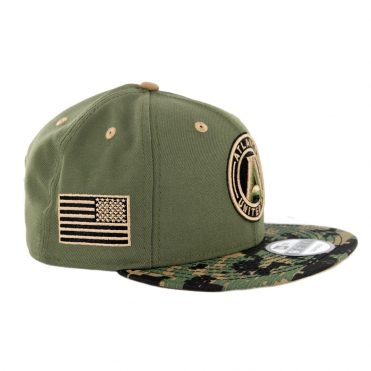 New Era 9Fifty Atlanta United Military Appreciation Snapback Hat Digi Camo