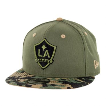 New Era 9Fifty Los Angeles Galaxy Military Appreciation Snapback Hat Digi Camo