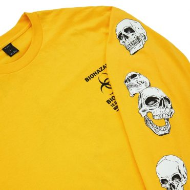 10 Deep Biohazard Long Sleeve T-Shirt Yellow