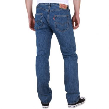 Levi's Original Fit 501 Jeans Dark Stonewash