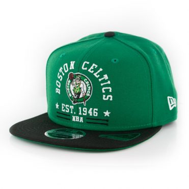 New Era 9Fifty Boston Celtics Arch Snapback Kelly Green