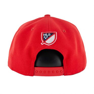 New Era 9Fifty New York Red Bulls Basic Snapback Red