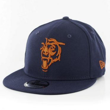 New Era 9Fifty Chicago Bears Elemental Snapback Hat Dark Navy