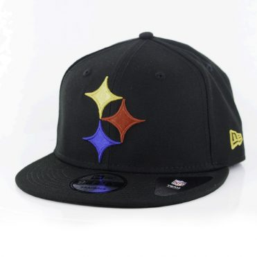 New Era 9Fifty Pittsburgh Steelers Elemental Snapback Hat Black