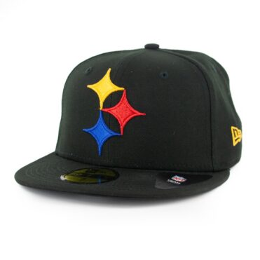 New Era 59Fifty Pitsburgh Steelers Elemental Fitted Black