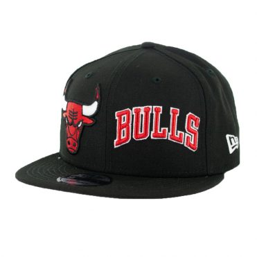 New Era 9Fifty Chicago Bulls Logo Wrap Snapback Black