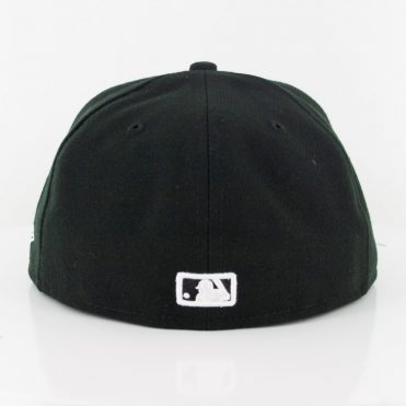 New Era 59Fifty MLB Basic Logo Fitted Hat Black White