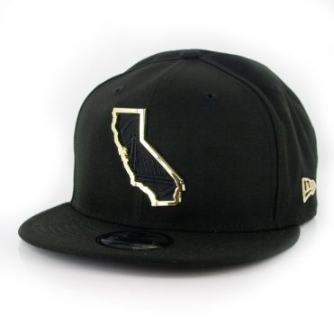 New Era 9Fifty Golden State Warriors MNT State Snapback Hat Black
