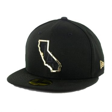 New Era 59Fifty Los Angeles Dodgers MNT State Fitted Hat Black