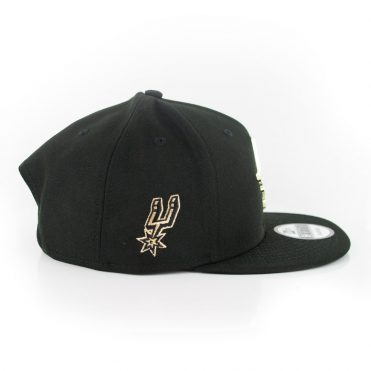 New Era 9Fifty San Antonio Spurs MNT State Snapback Hat Black