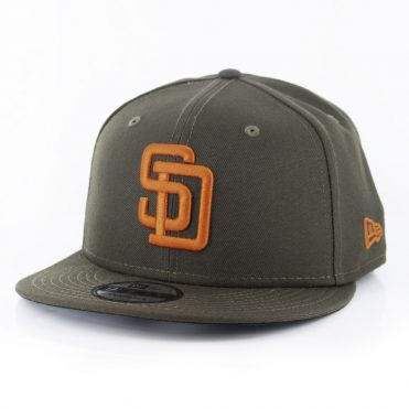 New Era 59Fifty San Diego Padres Cooperstown Fitted Hat Brown//Orange MLB Cap