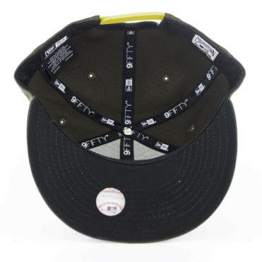 New Era 9Fifty San Diego Padres Cooperstown Snapback Hat Brown Gold