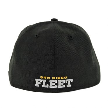 New Era 59Ffity AAF San Diego Fleet Fitted Hat Black