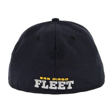 New Era 59Ffity AAF San Diego Fleet Fitted Hat Navy