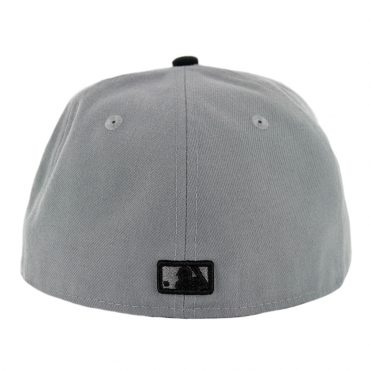 New Era 59Fifty Chicago White Sox Fitted Hat Storm Grey Black