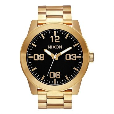 Nixon Corporal SS Watch All Gold Black