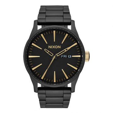 Nixon Sentry SS Watch Matte Black Gold
