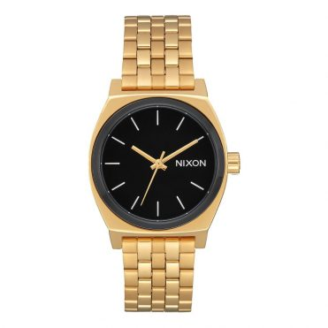 Nixon Time Teller Watch All Gold Black Sunray