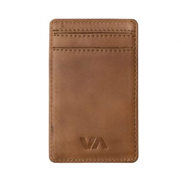 RVCA Clean Card Wallet Tan