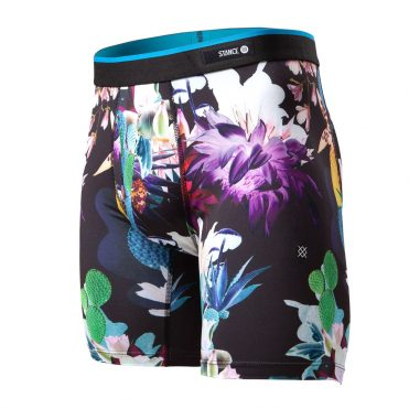 Stance Cactus Rave Boxer Brief Black