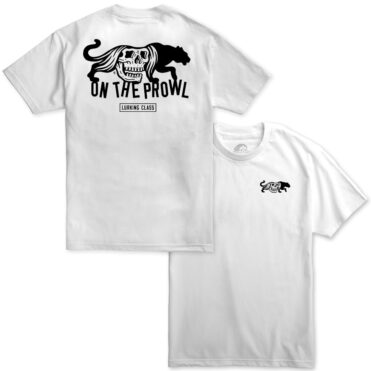 Sketchy Tank On The Prowl T-Shirt White