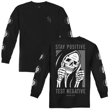 Sketchy Tank Stay Positive Long Sleeve T-Shirt
