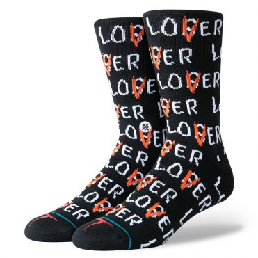 Stance x IT Lover Loser Sock Black