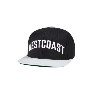 The Hundreds Westcoast Snapback Hat Black