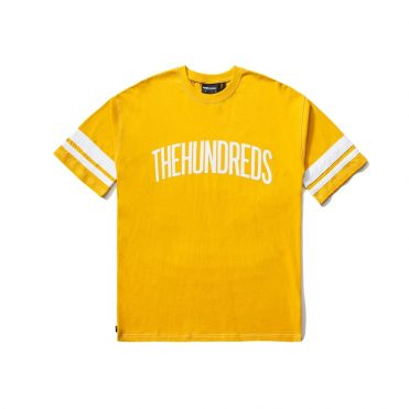 The Hundreds Wilmington T-Shirt Gold