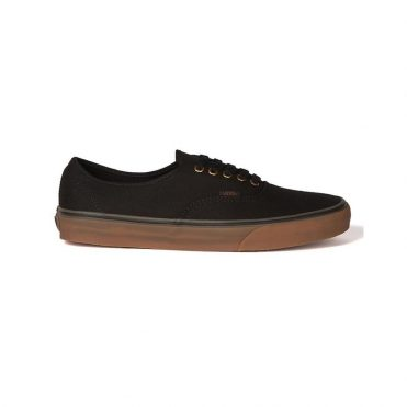 Vans Authentic Shoe Black Rubber