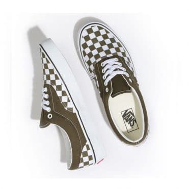 Vans Checkerboard Era Shoe Beech True White