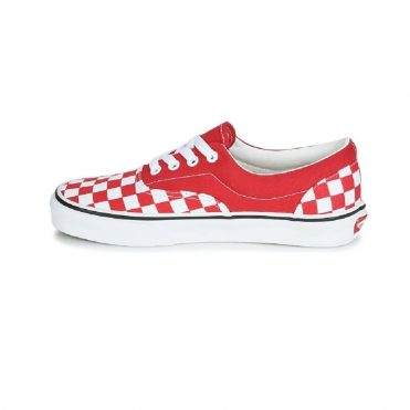 Vans Checkerboard Era Shoe Racing Red