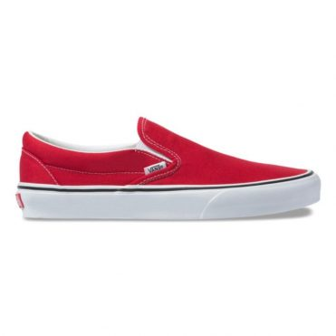 Vans Classic Slip-On Shoe Racing Red True White