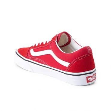 Vans Old Skool Shoe Racing Red True White