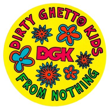 DGK Daisy Sticker