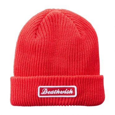 Death Wish Rockies Cuff Beanie Red