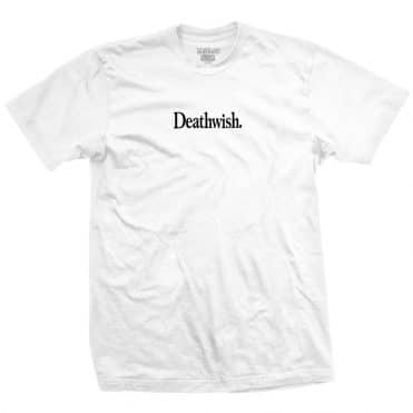 Death Wish Too Much T-Shirt White