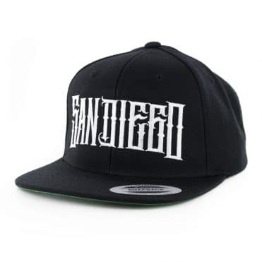 Dyse One SD Real Snapback Hat Black