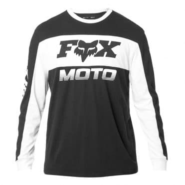 Fox Charger Airline Knit Long Sleeve T-Shirt Black