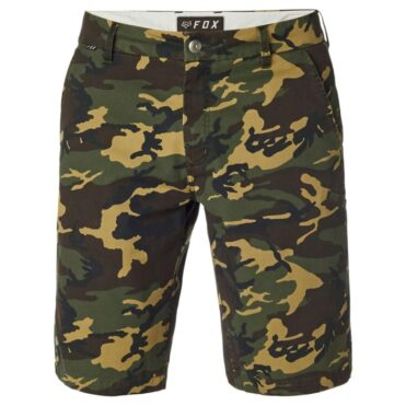 Fox Essex Camo Short Green Camo