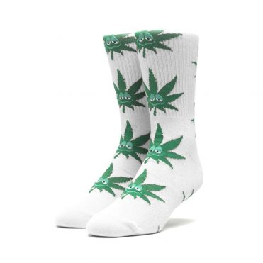 Huf Green Buddy Santa Sock White